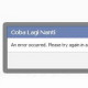 Facebook Like and Share Error