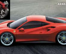 Honda dan Ferrari Raih Gelar Mesin Mobil Terbaik 2017