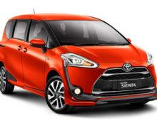 Ini 7 Tipe, Pilihan Warna dan Harga Mobil All New Toyota Sienta