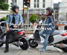 Sepeda Motor VIAR Q1, Skuter Listrik Pertama Ber-STNK, Ini Harga dan Spesifikasi Lengkapnya