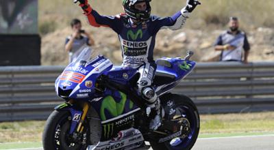 Lorenzo Kembali Juara MotoGP 2015 Di Aragon Spanyol