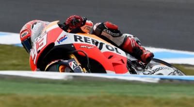 Video Menegangkan Marquez Hampir Terjatuh di FP3 MotoGP Assen Belanda