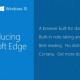 Microsoft Edge Penganti Browser Internet Expoler Dengan Fitur Cortana