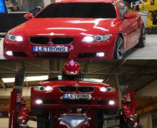 Letvision Modifikasi Mobil BWM Seri 3 Jadi Robot Transformer