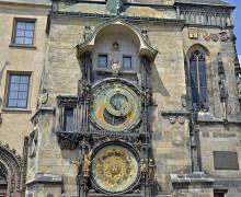 Ultah Prague Astronomical Clock Atau Jam Astronomi Praha Yang Ke 605