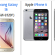 Perbandingan Samsung Galaxy S6 VS iPhone 6 VS HTC One M9